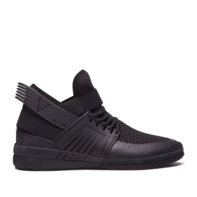 Womens Supra High Top Shoes SKYTOP V Black/black | AU-13438