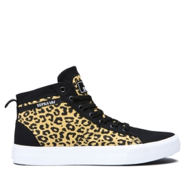 Womens Supra High Top Shoes STACKS MID Animal/white | AU-48468