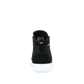 Womens Supra High Top Shoes STACKS MID Black/Black/white | AU-85738