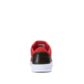 Womens Supra Low Top Shoes CHINO COURT Red/Black | AU-79807