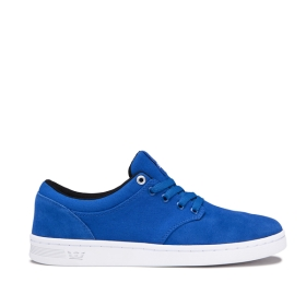 Womens Supra Low Top Shoes CHINO COURT Ocean/white | AU-66887