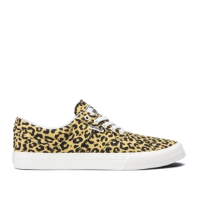 Womens Supra Low Top Shoes COBALT Animal/bone | AU-94778