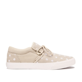 Womens Supra Low Top Shoes CUBA Mojave/Mojave/bone | AU-65261