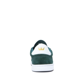 Womens Supra Low Top Shoes ELEVATE Evergreen/white | AU-66312