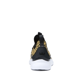Womens Supra Low Top Shoes FACTOR Animal/white | AU-51651
