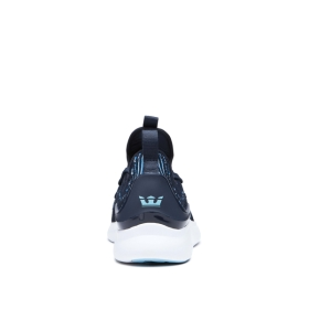 Womens Supra Low Top Shoes FACTOR Navy/Topaz/white | AU-96680