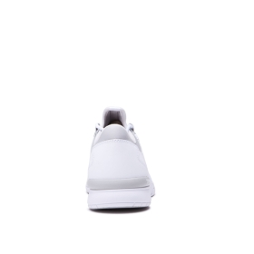 Womens Supra Low Top Shoes FLOW RUN White/Lt Grey/white | AU-71048