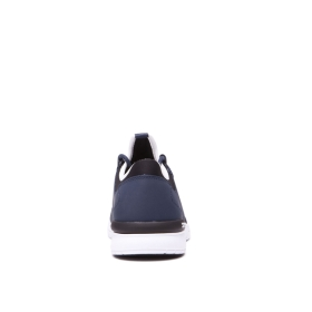 Womens Supra Low Top Shoes FLOW RUN Navy/white | AU-92776