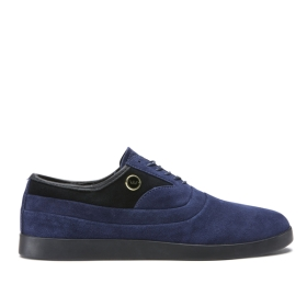 Womens Supra Low Top Shoes GRECO Blue Suede | AU-75134