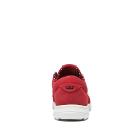 Womens Supra Low Top Shoes HAMMER RUN Cherry/Bone | AU-11673