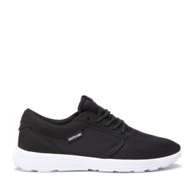Womens Supra Low Top Shoes HAMMER RUN Black/White/white | AU-91384