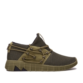 Womens Supra Low Top Shoes MALLI Avocado/avocado | AU-66951