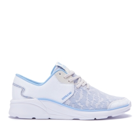 Womens Supra Low Top Shoes NOIZ White Oil Slick/White | AU-89608