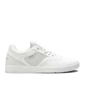 Womens Supra Low Top Shoes SAINT Bone/bone | AU-95478