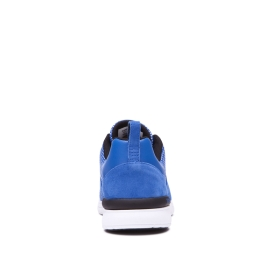 Womens Supra Low Top Shoes SCISSOR Ocean/white | AU-56942