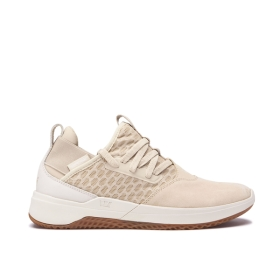 Womens Supra Low Top Shoes TITANIUM Mojave/Bone/gum | AU-32413